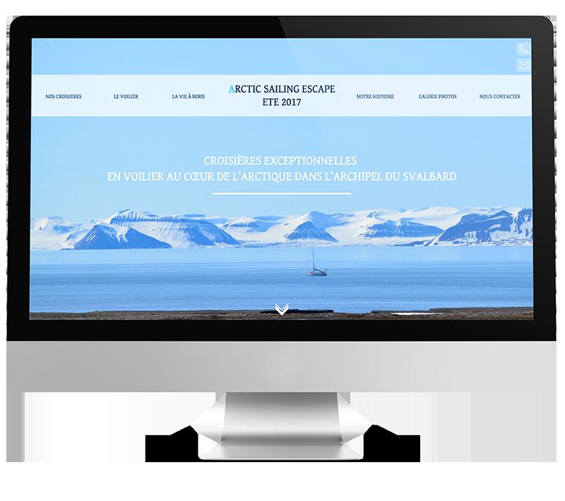 Arctic Sailing Escape,